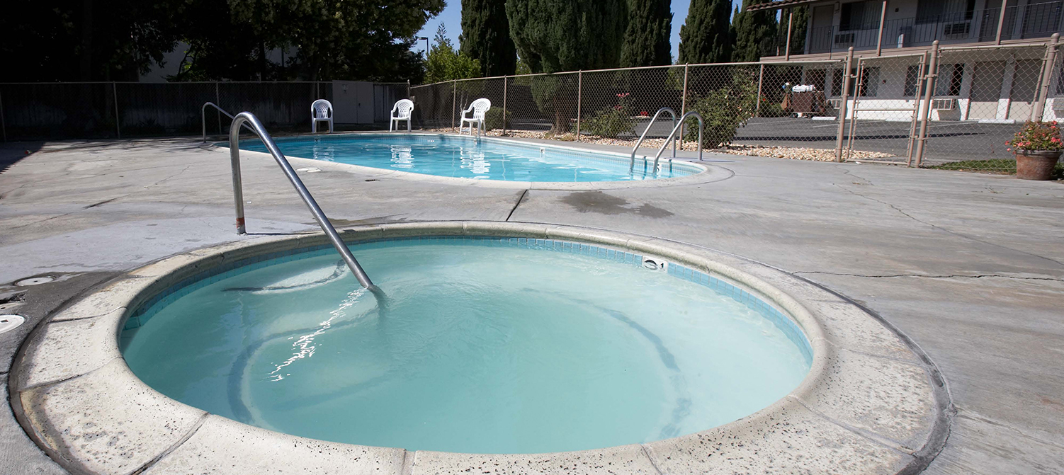 WE OFFER A POOL AND SPA AND MANY OTHER AMENITIES VENDING, ON-SITE LAUNDRY, WIFI, AND FREE PARKING ARE PROVIDED AT E-Z 8 MOTEL SAN JOSE